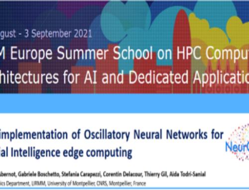 ACM Europe Summer School – Best Poster Award